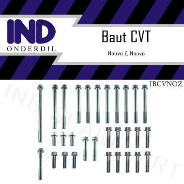 harga IND Onderdil Set Baut Blok Mesin CVT Crank Case Cover Motor for Yamaha Nouvo & Nouvo Z Blibli.com