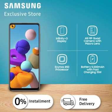 Samsung Galaxy A21s Smartphone [6 GB- 64 GB]