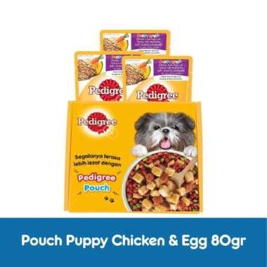 harga Pedigree Pouch Puppy Makanan Anjing Basah [80gr/3 pcs] Blibli.com