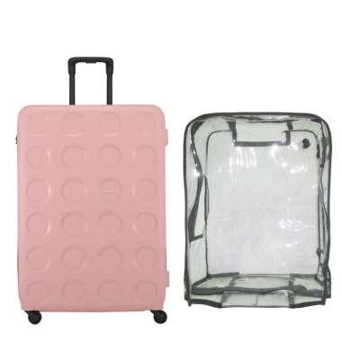 Lojel Vita 2 Koper Hardcase [Large/ 31 Inch/ Bundling] + Luggage Cover Large