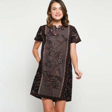 Andelly Batik 02 07 Dress Panjang Wanita