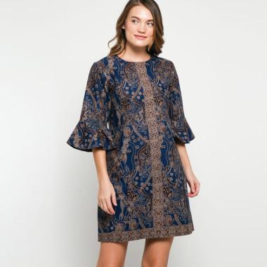 Andelly Batik 02 11 Dress Panjang Wanita