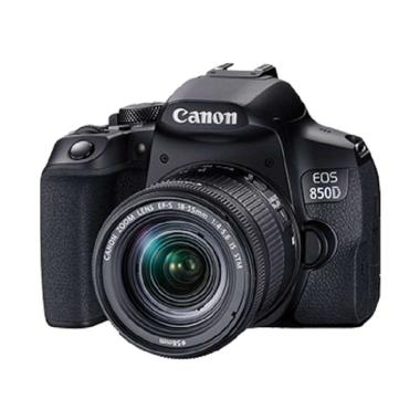harga Canon EOS 850D with Lens 18-55mm BLACK Blibli.com