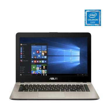 harga Asus X441MA-GA031T Notebook - Black [N4020/ 4GB/ 1TB/ 14 Inch/ Win10 Home] Blibli.com