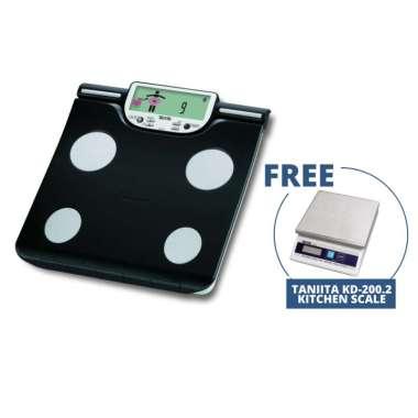 harga Tanita BC601 SD CARD Body Composition Monitor Timbangan Badan Digital FREE Tanita KD-200.2 Digital Kitchen Scale hitam Blibli.com