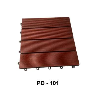harga DECK TILE KAYU PD-101 Natural Brown Blibli.com