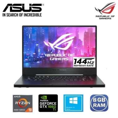 harga ASUS ROG ZEPHYRUS G15 GA502IU-R966B8T Gaming Laptop [AMD Ryzen 9-4900HS /8GB DDR4/1 TB M.2 NVMe/NVIDIA GeForce GTX1660Ti 6GB/Windows 10/FHD 144Hz] Black Blibli.com