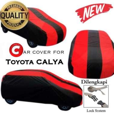 harga Body Cover Premium/Selimut mobil/Car Cover Toyota Calya merah hitam Blibli.com