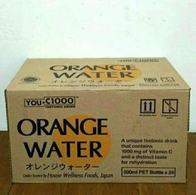 harga Minuman Isotonik YOU C1000 Orange Water - 500 ml (Kemasan Karton) Blibli.com