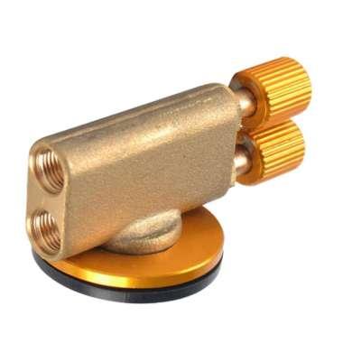 harga Gas Stove Valve Flat Cylinder Control Switch Burner Adapter Double Head - Blibli.com