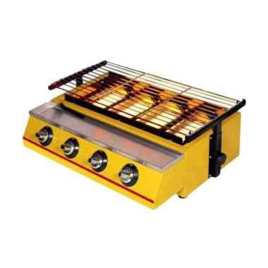 harga Getra ET-K222 Kuning Alat Pemanggang [4 Burner BBQ/GAS] kuning Blibli.com