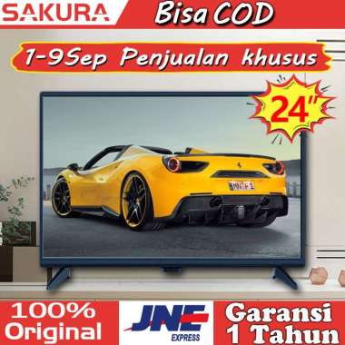 harga Sakura tv led 24 inch tv murah HD Televisi TCLG-S24G 24 inch - Blibli.com