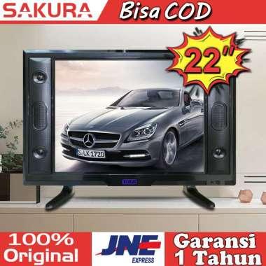 harga Sakura tv led 22 inch tv murah HD Televisi TCLG-S22E 22 inch - Blibli.com