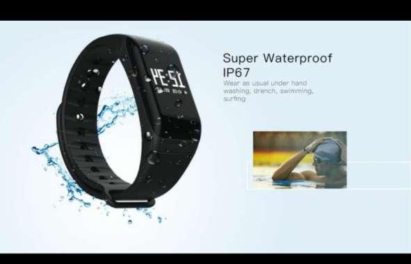 harga 4Fit Waterproof Activity Traker with Blood Pressure/Oxigen Monitor Blibli.com
