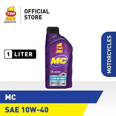harga TOP 1 MC 10W-40 Paket Motor Manual C Oli Kendaraan [1 L] Blibli.com