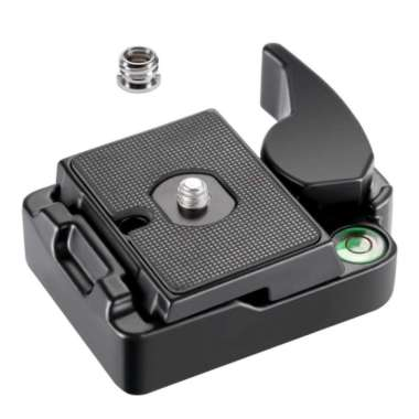 harga Quick Release QR Plate Clamp Adapter for Manfrotto 200-PL14 RC2 DSLR Tripod - Blibli.com