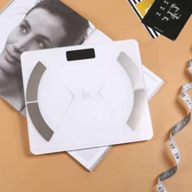 harga Timbangan Berat Badan Body Fat Monitor Smart (Bluetooth) PUTIH Blibli.com