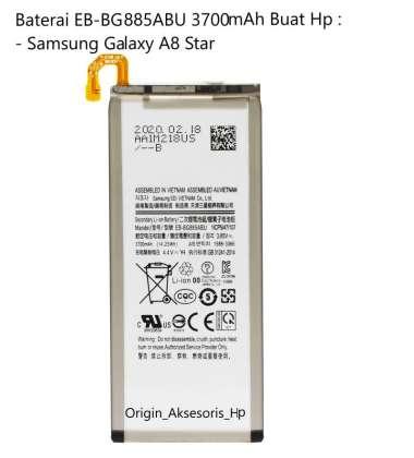 harga Original Baterai EB-BG885ABU Buat Handphone Samsung Galaxy A8 Star Blibli.com