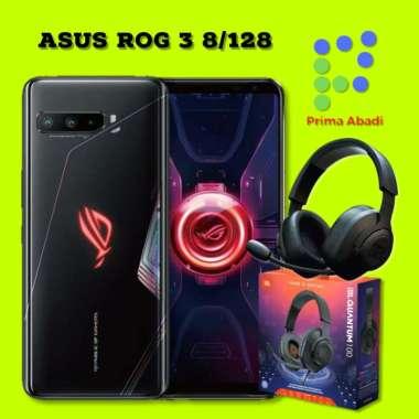 harga Asus ROG 3 Phone 8/128GB Free JBL Gaming Headphone Original Black Blibli.com