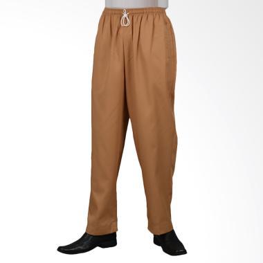 Arafah Long Pants Celana Muslim Pria - Brown