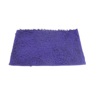Home-Klik Cendol Microfiber Keset - Ungu [40 x 60 cm]