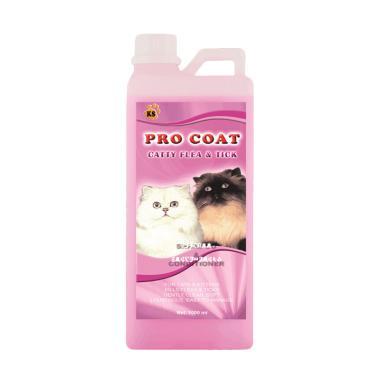 KS Petcare Pro Coat Catty Flea and Tick Shampoo & Conditioner Kucing