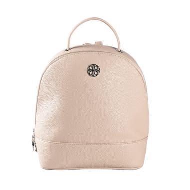 Les Catino Pebbles Backpack Wanita - Cream