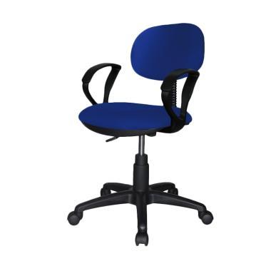 Ergosit Seat Armrest Kursi Kantor - Biru