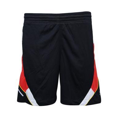 Lasona CF-828-M Dim Celana Fitness Pria - Hitam Merah