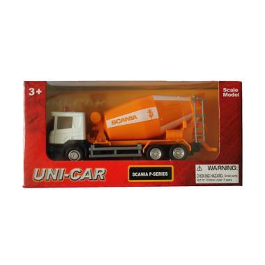 Uni-Car Scania Cement Mixer Truck Diecast