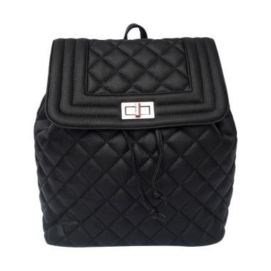 Baglis Violet Backpack Ransel Wanita - Hitam