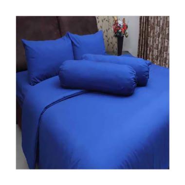 Chelsea Microtex Polos Set Sprei - Biru Tua