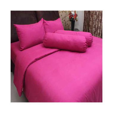 Chelsea Microtex Set Sprei - Polos Pink Tua