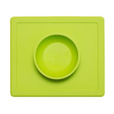 EZPZ Happy Bowl Size 26 x 22 x 3.8cm Color Lime