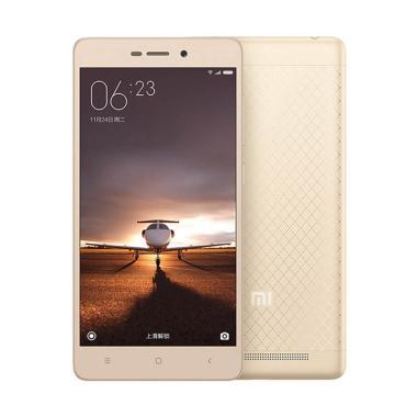 Xiaomi Redmi 3S Pro Smartphone - Gold [32GB/RAM 3GB]