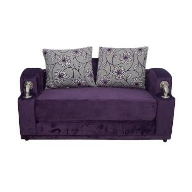 Aim Living Jazz Sofa Bed - Purple Suede