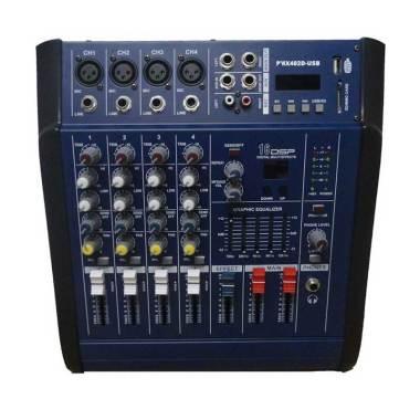 Dusen Berg PMX-402D 4 Channel Power Audio Mixer