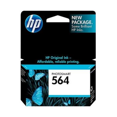 HP Tinta Printer 564 Ink Cartridge Original - Yellow (CB320WA)