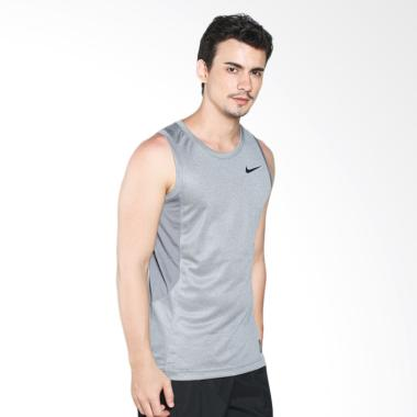 Nike As Elite Hybrid Tank Grey Kaos Basket 718816-065