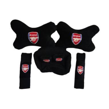 Custom 3in1 Arsenal Set Bantal Mobil - Black