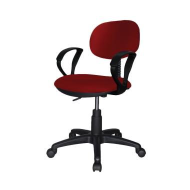 Ergosit Seat Armrest Kursi Kantor - Merah