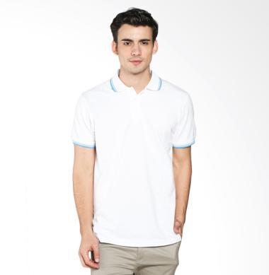 A&D Fashion MS 1716-589 Polo Shirt Pria - White