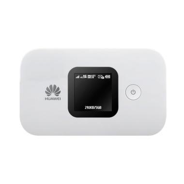 Huawei E5577 MiFi UNLOCK + Free Paket  XL Go [90GB/3bulan] - Putih