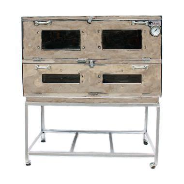 Kiwi Stainless Steel Oven Gas - Perak [110 x 58 cm]