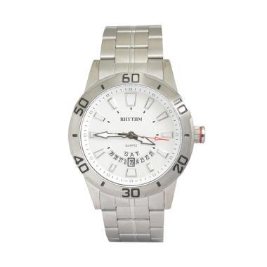 RHYTHM G1306S01 Casual White Jam Tangan Pria