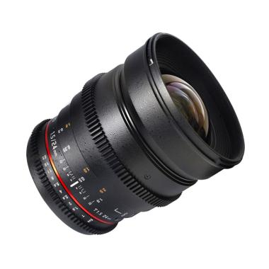 Samyang Lens 24mm T1.5 VDSLR MK II For Canon