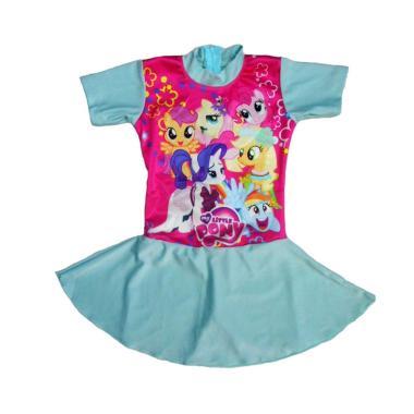 Nice Motif My Pony Baju Renang Rok Anak - Mint