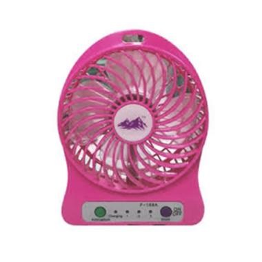 FLECO F95B USB Mini Fan with Powerbank - Pink