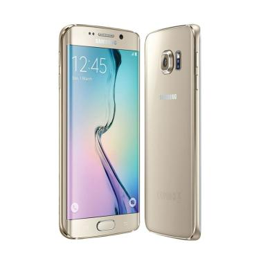 Samsung Galaxy S6 Edge Smartphone - Gold Platinum [32GB/ 3GB]