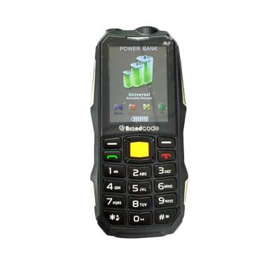 BrandCode B9900 - Hijau [10.000 MAh/Dual SIM]